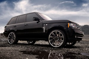 Range Rover Tuned Wheels Black