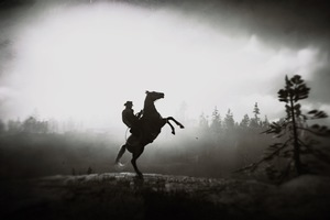 Red Dead Redemption 2 Horse Ride 4k
