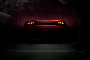 Red Lamborghini Huracan Rear Lights