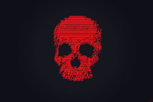 Red Skull 4k Wallpaper
