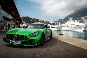 Renntech Mercedes AMG GT R 2018 Wallpaper