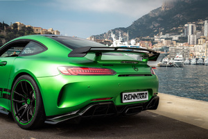 Renntech Mercedes AMG GT R 2018 Rear Wallpaper