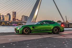 Renntech Mercedes AMG GT R 2018 Side View Wallpaper