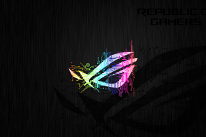 Republic Of Gamers Abstract Logo 4k Wallpaper