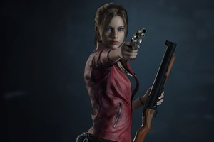 Resident Evil 2 Claire Redfield Wallpaper