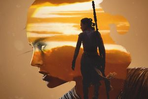 Rey Star Wars Artwork Wallpaper