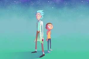Rick And Morty Artwork Wallpaper