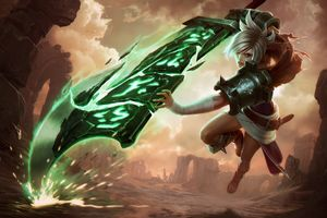 Riven League Of Legends 5k Wallpaper