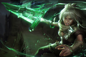 Riven League Of Legends HD Wallpaper