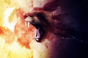 Roaring Lion Wallpaper