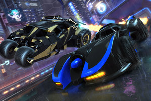 Rocket League DC Super Heroes DLC