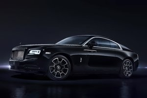 Rolls Royce Black 2017