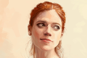 Rose Leslie Game Of Thrones Digital Art Wallpaper