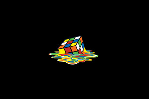Rubiks Cube 2 Wallpaper