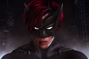 Ruby Rose As Batwoman Wallpaper