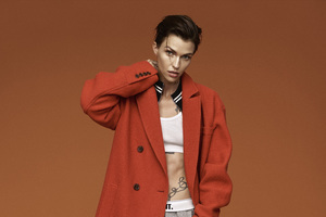 Ruby Rose Self Magazine 5k Wallpaper