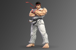Ryu Super Smash Bros Ultimate 5k Wallpaper