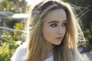 Sabrina Carpenter 2017 4k Wallpaper