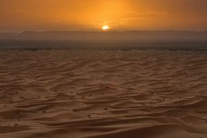 Sahara Desert Sunset Wallpaper