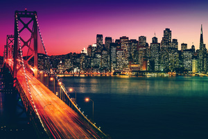 San Francisco California Cityscape 4k Wallpaper