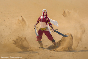 Sandstorm Katarina Cosplay League Of Legends