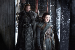 Sansa And Arya Stark Game Of Thrones Season 7