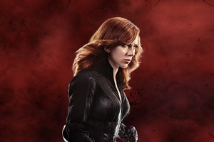 Scarlett Johansson Black Widow 5k Wallpaper