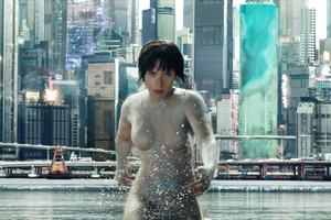 Scarlett Johansson In Ghost In The Shell Movie HD Wallpaper