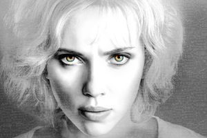 Scarlett Johansson In Lucy Movie 2 Wallpaper