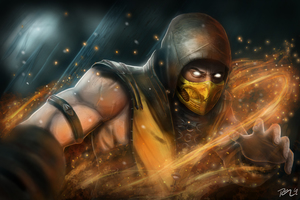 Scorpion Mortal Kombat X New Wallpaper