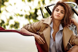 Selena Gomez With Cars