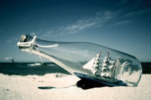 Ship In Bottle Wallpaper