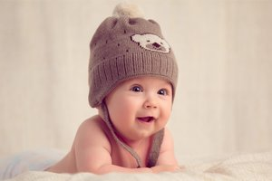 Smiling Baby Wallpaper