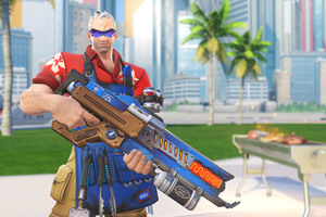 Soldier 76 Overwatch Summer Games 2017 4k Wallpaper