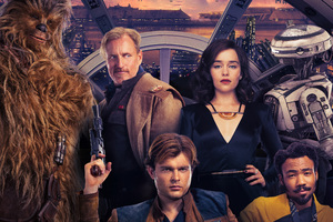 Solo A Star Wars Story Key Art Poster 5k Wallpaper