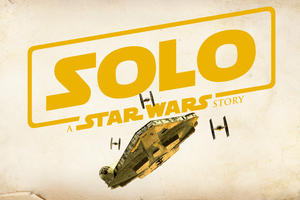 Solo A Star Wars Story Movie Logo