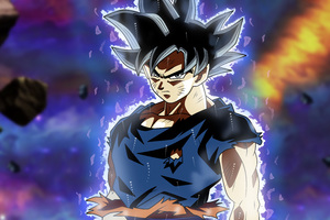 Son Goku Dragon Ball Super 5k Anime Wallpaper