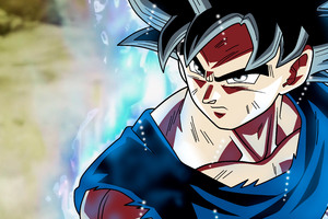 Son Goku Dragon Ball Super Anime Retina Display 5k