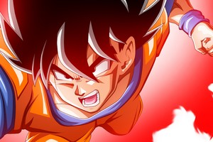 Son Goku In Dragon Ball Super 4k
