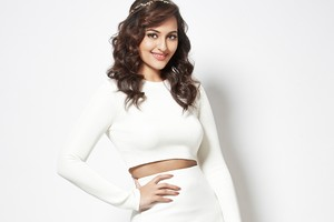 Sonakshi Sinha White Dress