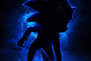 Sonic The Hedgehog 2019 Movie Wallpaper