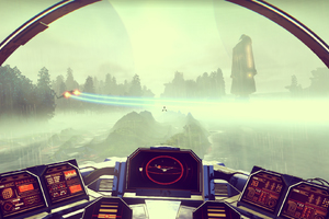 Space Craft No Mans Sky Game