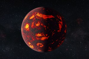 Space Universe Planet Exoplanet Burning Stars Wallpaper