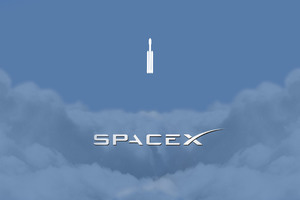 Space X Minimalism Wallpaper