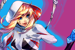 Spider Gwen Stacy Wallpaper