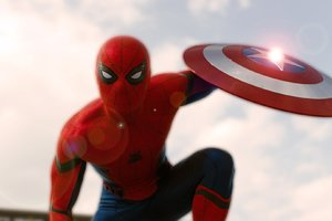 Spider Man In Captain America Civil War
