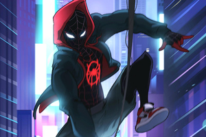Spider Verse New Art Wallpaper
