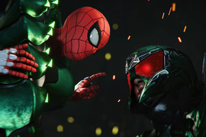 Spiderman And Scorpion Wallpaper