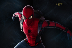 Spiderman Artwork 2018 Wallpaper