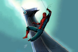 Spiderman Artwork